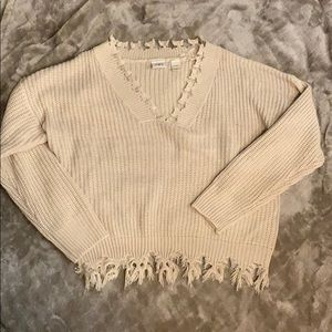 Daytrip destroyed sweater